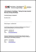 LCE Analysis of Buildings - Taking the Step Towards Net Zero Energy Buildings